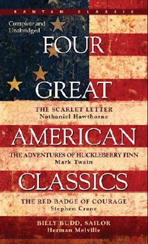 Four Great American Classics af Stephen Crane, Mark Twain, Herman Melville