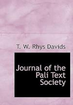 Journal of the Pali Text Society af T. W. Rhys Davids