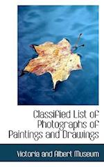 Classified List of Photographs of Paintings and Drawings af Victoria and Albert Museum