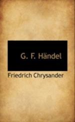 G. F. H Ndel af Friedrich Chrysander