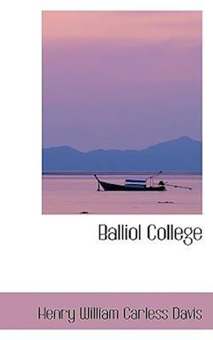 Balliol College af Henry William Carless Davis