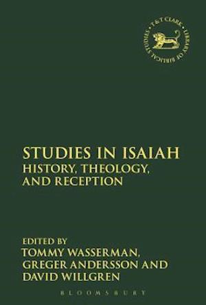 Bog, hardback Studies in Isaiah af Tommy Wasserman