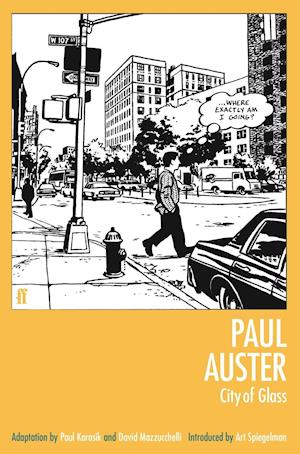 City of Glass af Art Spiegelman, David Mazzucchelli, Paul Karasik