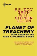 Planet of Treachery af Stephen Goldin