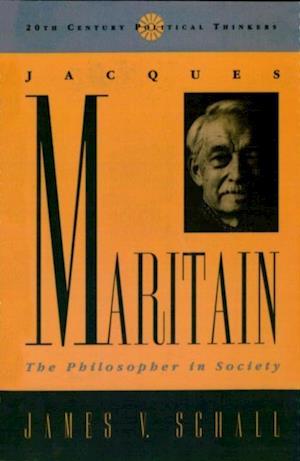 Bog, ukendt format Jacques Maritain CB af James V Schall