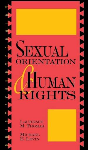 Bog, ukendt format Sexual Orientation and Human Rights af Laurence Mordekhai Thomas