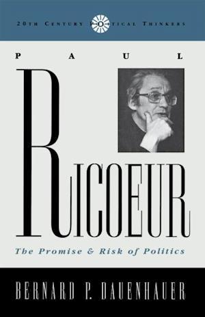 Bog, ukendt format Paul Ricoeur CB af Bernard Dauenhauer
