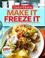 Taste of Home Make It Freeze It