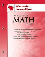Wisconsin Lesson Plans af Boswell, Larson, McDougal Littell