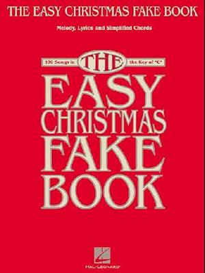The Easy Christmas Fake Book af Not Available