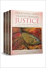 Preaching God's Transforming Justice, Three-Volume Set
