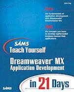 Sams Teach Yourself Macromedia Dreamweaver MX Application Development in 21 Days af John Ray