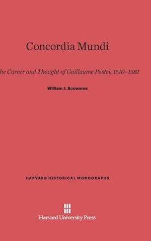 Concordia Mundi af William J. Bouwsma