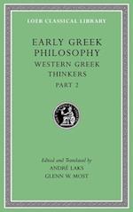 Early Greek Philosophy (LOEB CLASSICAL LIBRARY, nr. 5)