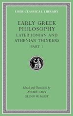 Early Greek Philosophy (LOEB CLASSICAL LIBRARY, nr. 6)