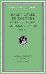 Early Greek Philosophy (LOEB CLASSICAL LIBRARY, nr. 7)