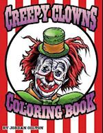 Creepy Clown Adult Coloring Book af Jordan R. Colton