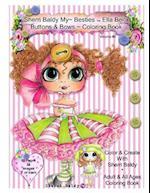 Sherri Baldy My-Besties Ella Bella Buttons and Bows Coloring Book af Sherri Ann Baldy