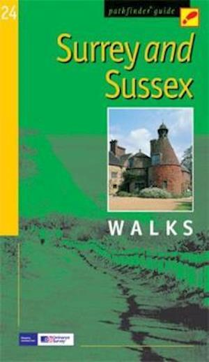 Surrey and Sussex af Crimson Publishing, John Brooks, Kevin Borman