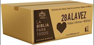 Bog, paperback Rvr60-Santa Biblia - Edicion Economica / Paquete de 28 af Rvr 1960- Reina Valera 1960