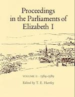 Proceedings in the Parliaments of Elizabeth I af Hartley