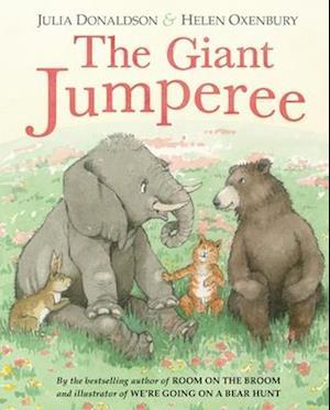 Bog, hardback The Giant Jumperee af Julia Donaldson
