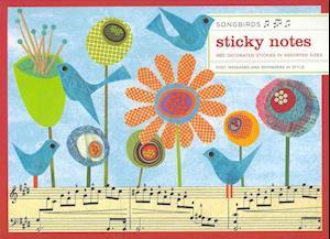 Songbirds Sticky Notes af Galison