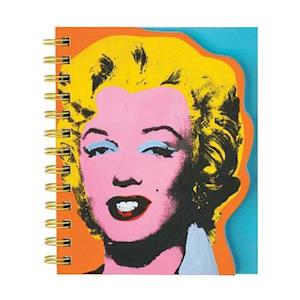 Andy Warhol Marilyn Layered Journal af Mudpuppy