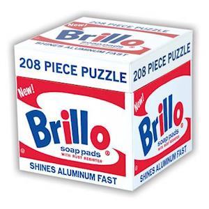 Andy Warhol Brillo Puzzle af Mudpuppy