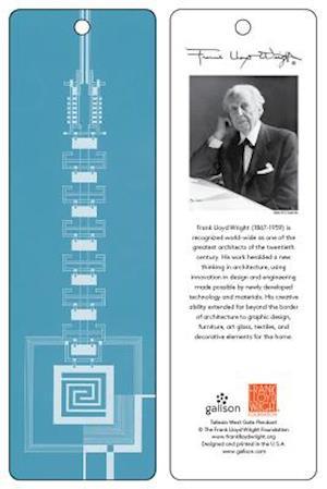 Frank Lloyd Wright Taliesin West Gate Bookmark (Blue) af Frank Lloyd Wright