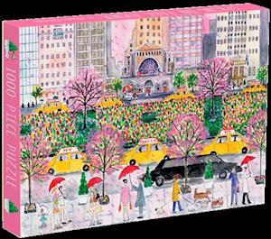 Bog, hardback Michael Storrings Spring on Park Avenue 1000 Piece Puzzle af Galison