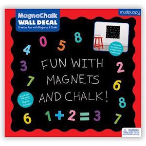 Bog, ukendt format Fun With 123s! Magnachalk Wall Decal af Mudpuppy