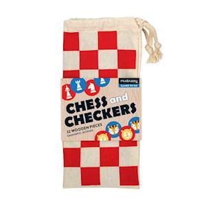Bog, ukendt format Tiger Vs. Lion Chess & Checkers af Mudpuppy