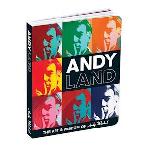 Bog, papbog Andy Warhol Andyland af Mudpuppy