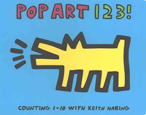 Bog, papbog Keith Haring Pop Art 123! af Mudpuppy
