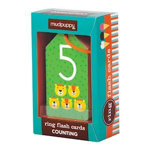 Bog, ukendt format Counting Ring Flash Cards af Mudpuppy
