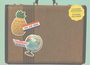 Bog, ukendt format Vintage Shaped Portfolio Notecards af Galison