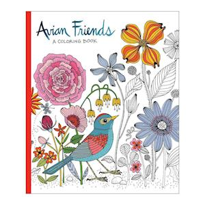 Bog, hardback Avian Friends Coloring Book af Galison