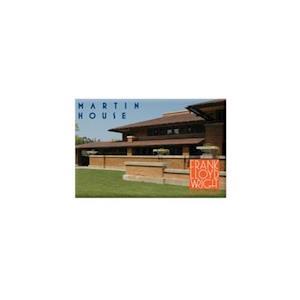 Bog, hardback Frank Lloyd Wright Martin House Magnet af Galison
