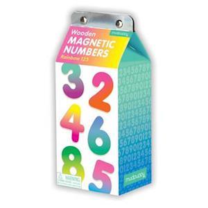 Bog, ukendt format Rainbow 123 Wooden Magnetic Numbers af Mudpuppy