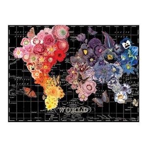 Bog, ukendt format Wendy Gold Full Bloom 1000 Piece Puzzle af Galison