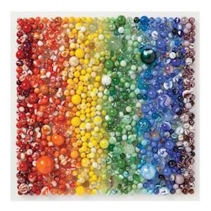 Bog, ukendt format Rainbow Marbles 500 Piece Puzzle af Galison