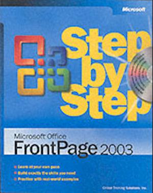 Bog, sampak Microsoft Office FrontPage 2003 Step by Step af Not Available, Online Training Solutions