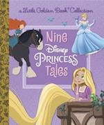 Nine Disney Princess Tales (Little Golden Book Favorites)