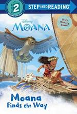 Moana Finds the Way (Step Into Reading. Step 1)