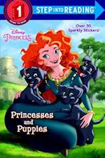 Princesses and Puppies (Step into Reading Step 1 Disney Princess)