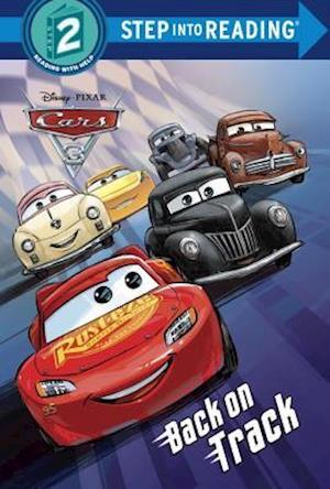 Bog, ukendt format Cars 3 Deluxe Step Into Reading with Stickers (Disney/Pixar Cars 3) af RH Disney