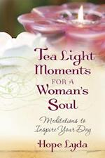 Tea Light Moments for a Woman's Soul af Hope Lyda