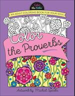 Color the Proverbs (Color the Bible)