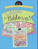 Color the Bible 3-in-1 (Color the Bible)